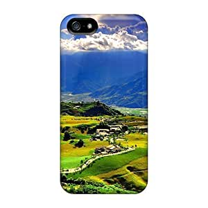 Bernardrmop Iphone 5/5s Well-designed Hard Case Cover Lots Of Sunlight Over The Valley Protector