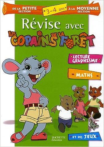 Téléchargements gratuits de livres audio kindle Révise avec les Copains de la Forêt de la Petite Section à la Moyenne Section : 3-4 Ans PDF 2011692423