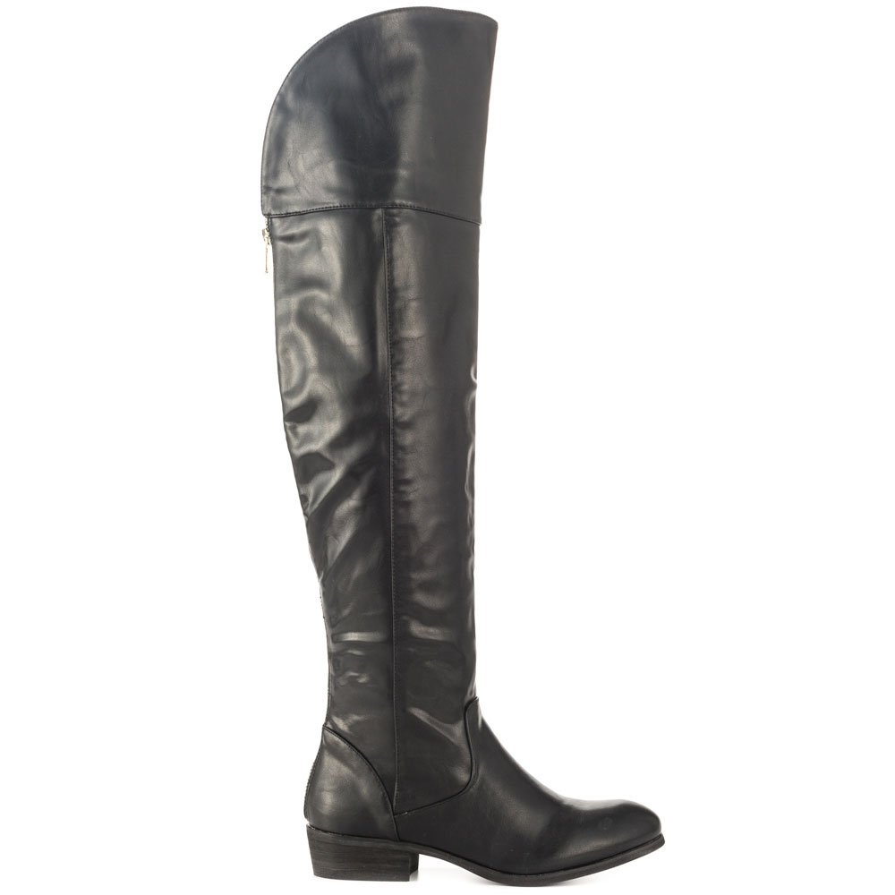 Report Women Gemi Black Dress Boots 8.5 M US by Report (Image #2)