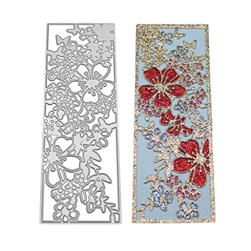 AKIMPE Cutting Dies Stencil Metal Template DIY for Scrapbook Album Paper Card Making on Clearance Embossing Dies Cuts D (Best Metal Albums To Own On Vinyl)