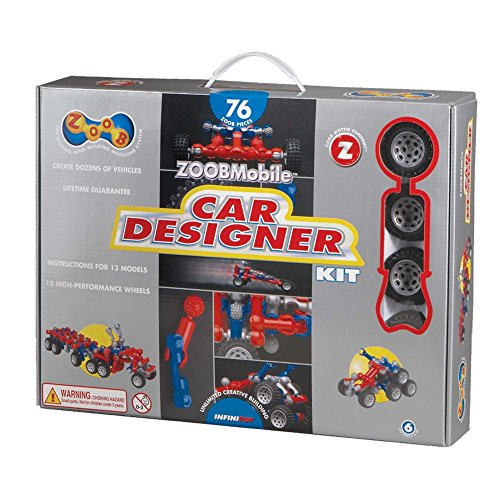 (Zoobmobile 76-pc. Car Designer Kit)