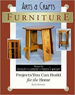 arts u0026 crafts furniture projects you can build for the home library blair howard amazoncom books