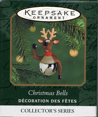 Hallmark Keepsake Ornament Christmas Bells 2000 QXM5964