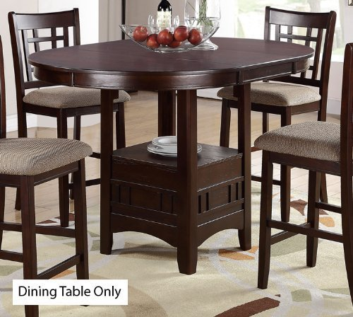 Poundex PDEX-F2345 Dining Tables, Brown