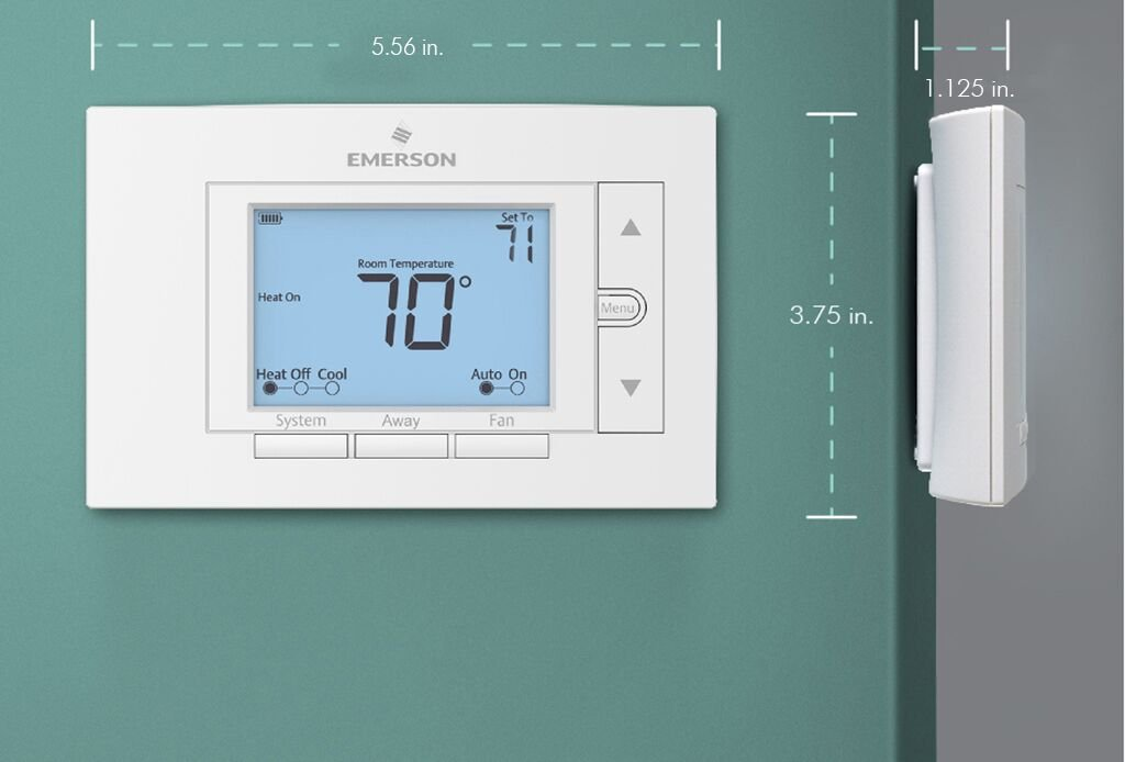 Emerson UNP310 Non-Programmable Thermostat by Emerson Thermostats (Image #3)