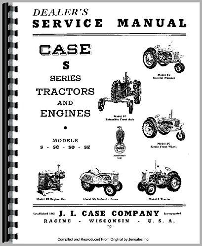 Case S Tractor Service Manual [Jan 01, 2017] Case pdf epub