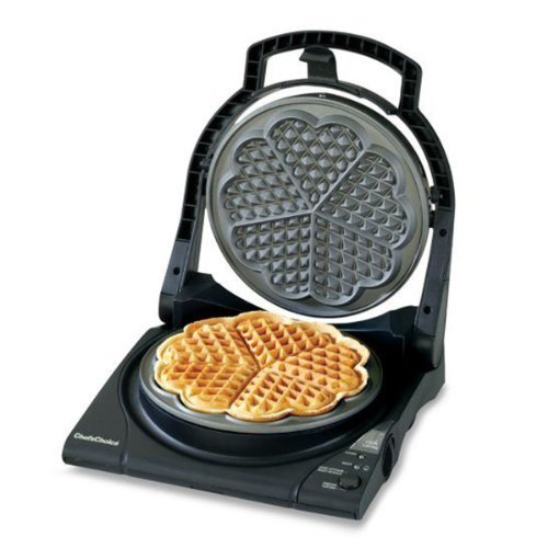 Chef Choice Wafflepro Five of Hearts M840 Electric Waffle Maker by AytraHome