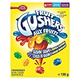 Betty Crocker Gushers Gushin Grape/Tropical, 6-Count, 138 Gram