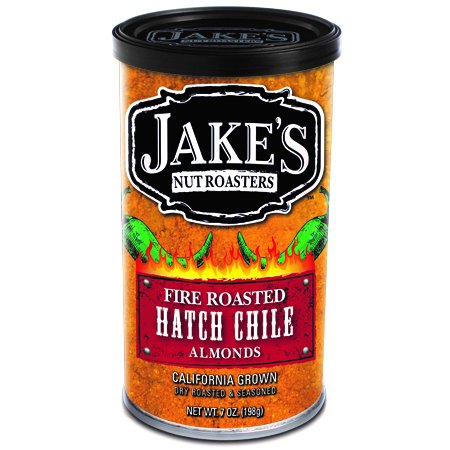 Jake's Nut Roasters Fire Roasted Hatch Chile - Specialty Nuts