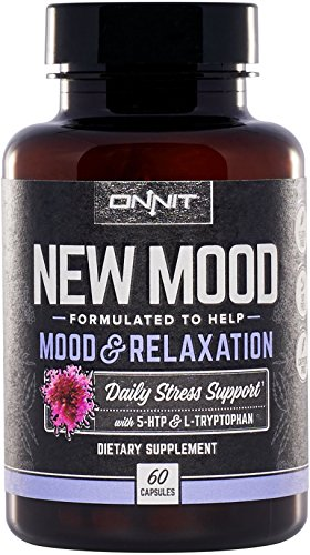 Onnit New Mood: Daily Stress, Mood, and Sleep Support Supplement (60ct) by ONNIT