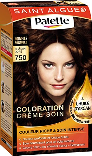saint algue palette coloration permanente chtain dor 750 amazonfr hygine et soins du corps - Coloration Saint Algue