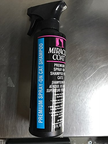 Premium Spray on Shampoo for cats 12 oz
