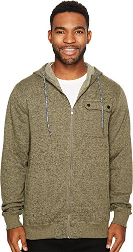O'Neill Men's Imperial Zip Hoodie, Olive, Small Imperial Olive