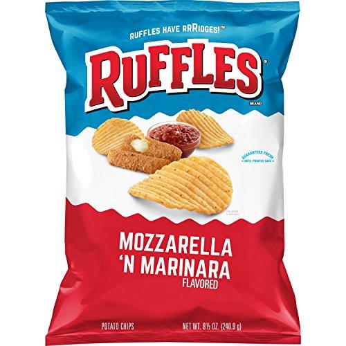 Ruffles Mozzarella & Marinara Flavored Potato Chips, 8.5 -