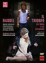 HANDEL: IL TRIONFO DEL TEMPO E DEL DISINGANNO (DVD)  SARA MINGARDO, FRANCO FAGIOLI, MICHAEL SPYRES, EMMANUELLE HAÏM SABINE DEVIEILHE