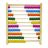 Tickles Wooden Large Abacus Children Learning Mathematical Toy New For Kids
