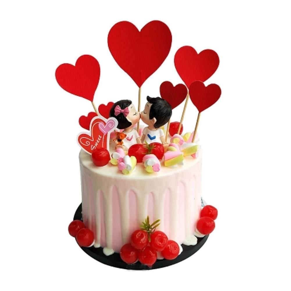 Blancho Bedding [H] Simulación Cake Cartoon Decoration Pastel de cumpleaños Creativo Modelo Pretend Cake: Amazon.es: Hogar