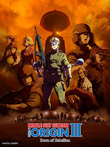 Price comparison product image MOBILE SUIT GUNDAM THE ORIGIN III Dawn of Rebellion (Dubbed)
