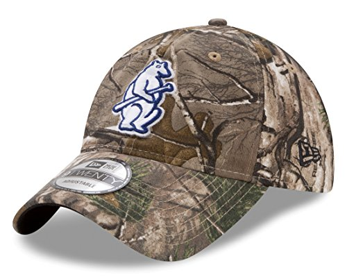 1ebe8d7b1fc Chicago Cubs Camouflage Caps. Chicago Cubs Cooperstown New Era 9TWENTY  Realtree Adjustable Hat ...