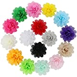 "Image of 16pcs 2.4"" Handcrafts Beautiful Diy Chiffon Hair Flowers Clips For Baby Girl Headbands Teens Babies Toddlers Kids Children Infant Princess Bridal Birthday photography flower Accessories"