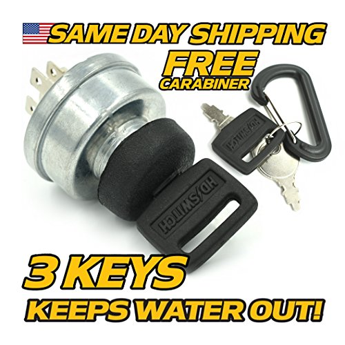 Murray 305720 305720MA Ignition Switch with Protective Cover Upgrade & 3 Keys - HD Switch ()