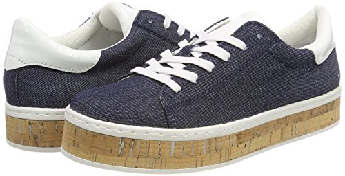 Denim para s Mujer Oliver Azul Zapatillas 23626 qfq6waY