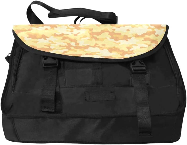 Handbag Satchel Classic Clothing Masking Camo Multi-Functional Shoulder Bags Fit for 15 Inch Computer Notebook MacBook