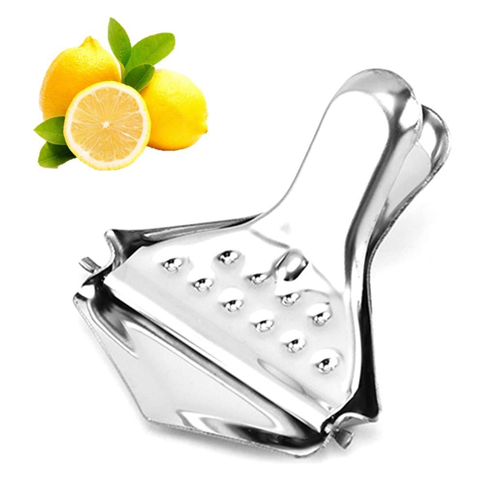 paletur88 Presse f/ür Zitronenpresse Orange K/üchenwerkzeug Handpresse Edelstahl Free Size Handpresse Silber Keilwerkzeug Zitronenpresse