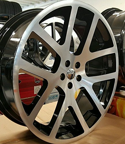"Automotive Rims And Wheels >> 24"" INCH SRT-10 VIPER LIKE WHEELS & TIRES FIT DODGE CHARGER CHALLENGER CHRYSLER - Buy Online in ..."