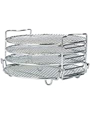 Food Dehydrator Stand Racks for Gowise Phillips USA Cozyna Ninjia Airfryer, Fit all 4.2QT - 5.8QT and above air fryer,Dehydrator Rack for Air Fryer Oven & Pressure Cooker to Dehydrate Fruits, Meats,