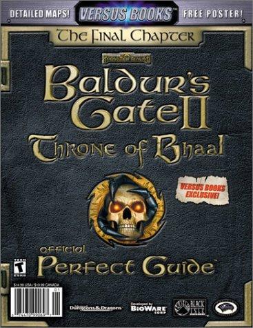 Versus Books Official Baldur's Gate II: Throne of Bhaal Perfect Guide pdf epub