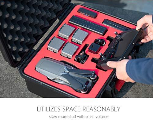 MOZATE PGYTECH Hardshell Shockproof Case Box Suitcase Bag for DJI Mavic 2 &Smart Controller (Black) by MOZATE (Image #2)