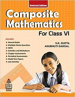 Amazon in: Buy Composite Mathematics - Class 6 (For 2019 Exam) Book