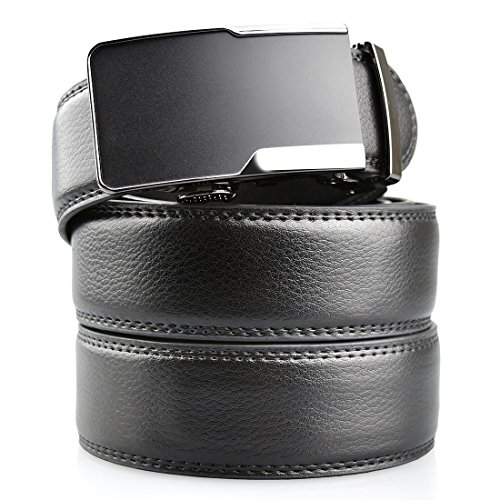 romanee-conti-mens-leather-ratchet-belt-with-removable-automatic-buckle-138-widthblack