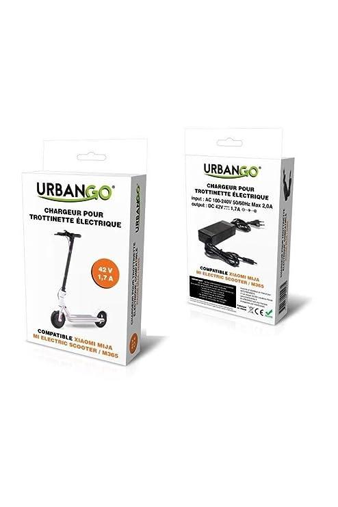 Urbango Cargador - Patinete eléctrico Compatible xiaomi mi ...