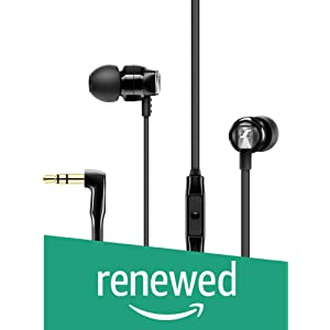 9f21f8f8920 Sennheiser CX 180 Stereo Wired Headphones Black Grey In the Ear Best ...