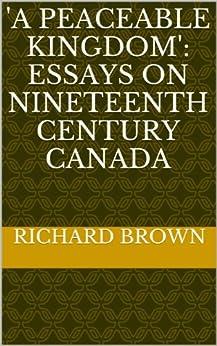 Peaceable kingdom essays