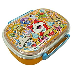 Yokai Watch lunch box with core] [Orange] PCR-7