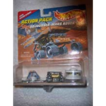 Action Pack Mars Rover Sojourner Collectible Collector Car Mattel Hot Wheels