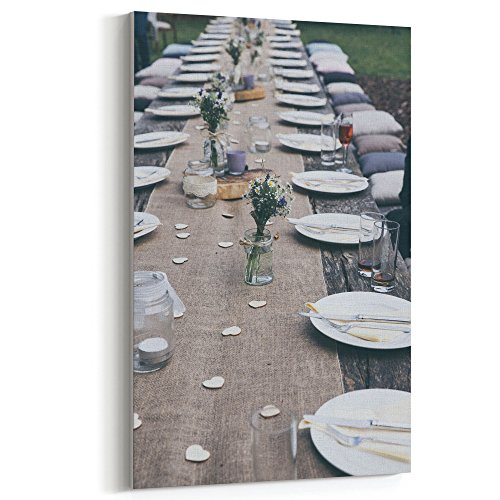 Cheap  Westlake Art Canvas Print Wall Art - Table Furniture on Canvas Stretched..
