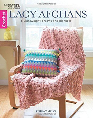 Lacy Afghans: 8 Crochet Afghan Designs
