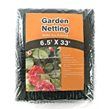 HEAVY DUTY BIRD NETTING - Extra Strong-Long Lasting Protection Against Birds,Hawks,Racoons and Other Pests - 6.5'x33'
