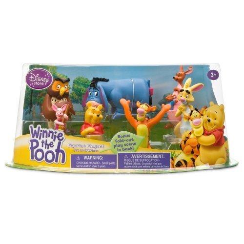 Disney Winnie the Pooh Figurine Play Set -- 7-Pc (200655) (Disney Winnie The Pooh Pack And Play)