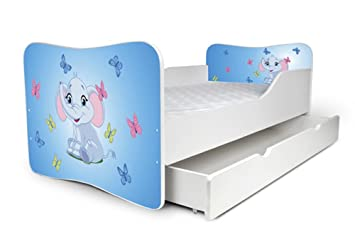 Nobiko Babybett Kinderbett Bett Schlafzimmer Kindermöbel ...
