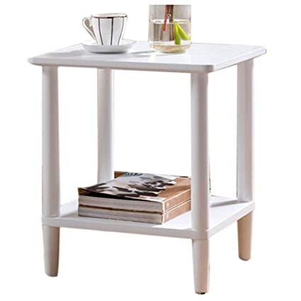 Amazon.com: Coffee Table Simple Solid Wood Corner Table ...