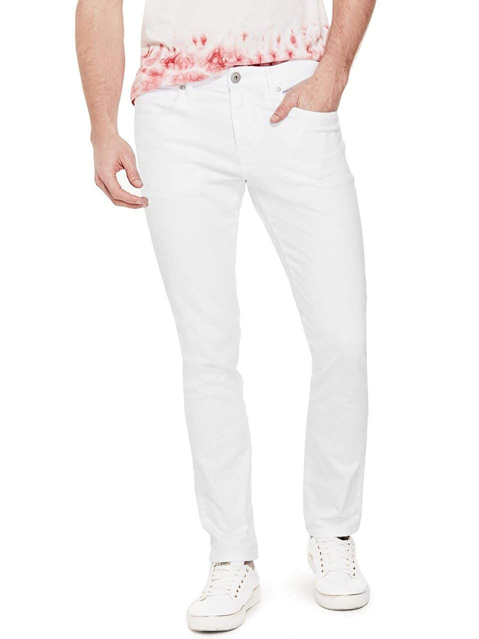 GUESS Factory Mens Scotch Skinny Jeans