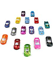 TONZE Coches Niños Juguetes Vehiculos Metálico Mini Miniaturas Coches Maquetas Vehiculos Coches Metalicos Juguetes 3 Años 16 Coches
