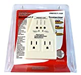 Voltage Protector Brownout Surge Refrige Dual Plug 1800 Watt Appliance 15 Amp