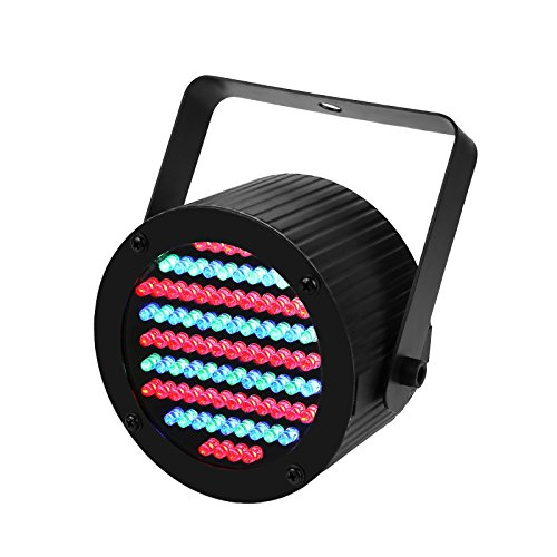 GBGS Led Uplight RGB PAR Light Mini 86 LEDs 7 Channel DMX512 Colorful Wall Wash for KTV Bar Wedding Festival Party