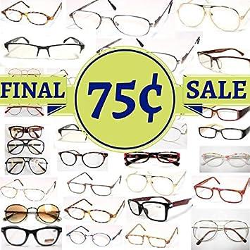 1d1409e136b7 Amazon.com  Wholesale Reading Glasses -105 for  0.75 - Bulk Order ...